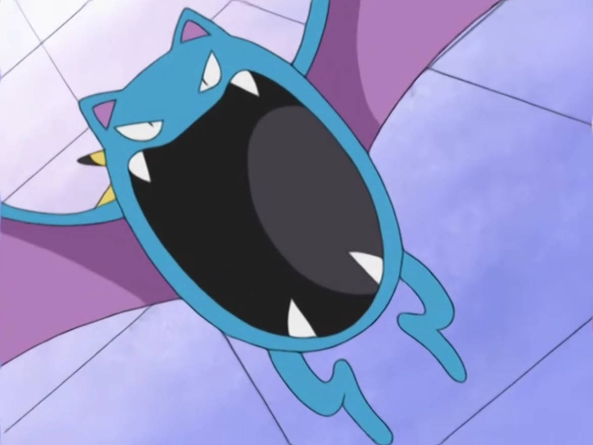 Golbat is used by Agatha to rescue Ash's Pikachu from Team Rocket's clutches by using Air Cutter and Supersonic, subsequently sending them blasting off.