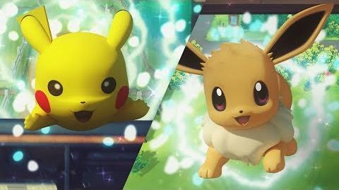 Trailer van Pokémon Let's Go, Pikachu! en Pokémon Let's Go, Eevee!