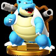 거북왕 피규어 Wii U