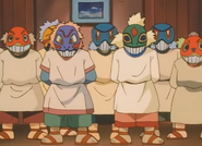 Town Council members masks