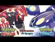 Pokemon Omega Ruby-Alpha Sapphire - Battle! Primal Kyogre-Groudon Music (HQ)
