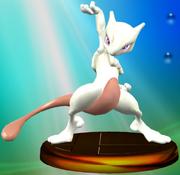 Mewtwo (Smash 2) trophy SSBM