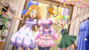 Serena, Bonnie and Diancie outfits 6