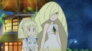 Lillie and Lusamine