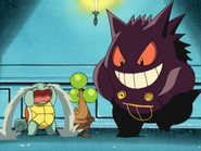 Gengar Pikachu's Ghost Carnival