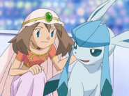 May and Glaceon