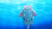 Mega Slowbro Trailer Anime