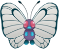 012Butterfree Pokémon PokéPark
