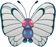 012Butterfree Pokémon PokéPark