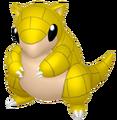 027Sandshrew Pokémon HOME