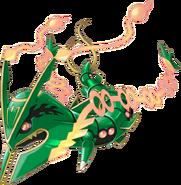 384Mega Rayquaza Pokemon Rumble World