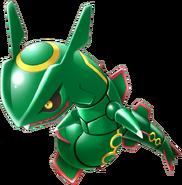 384Rayquaza Pokemon Rumble U