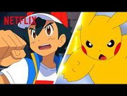 Ash & Pikachu's Epic Battle Moments - Pokémon Journeys - Netflix Futures