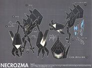 Necrozma SM concept art