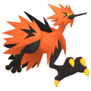 145Zapdos Galarian Pokémon HOME