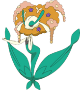 671Florges Orange Flower XY anime