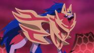 Zamazenta Crowned Shield anime