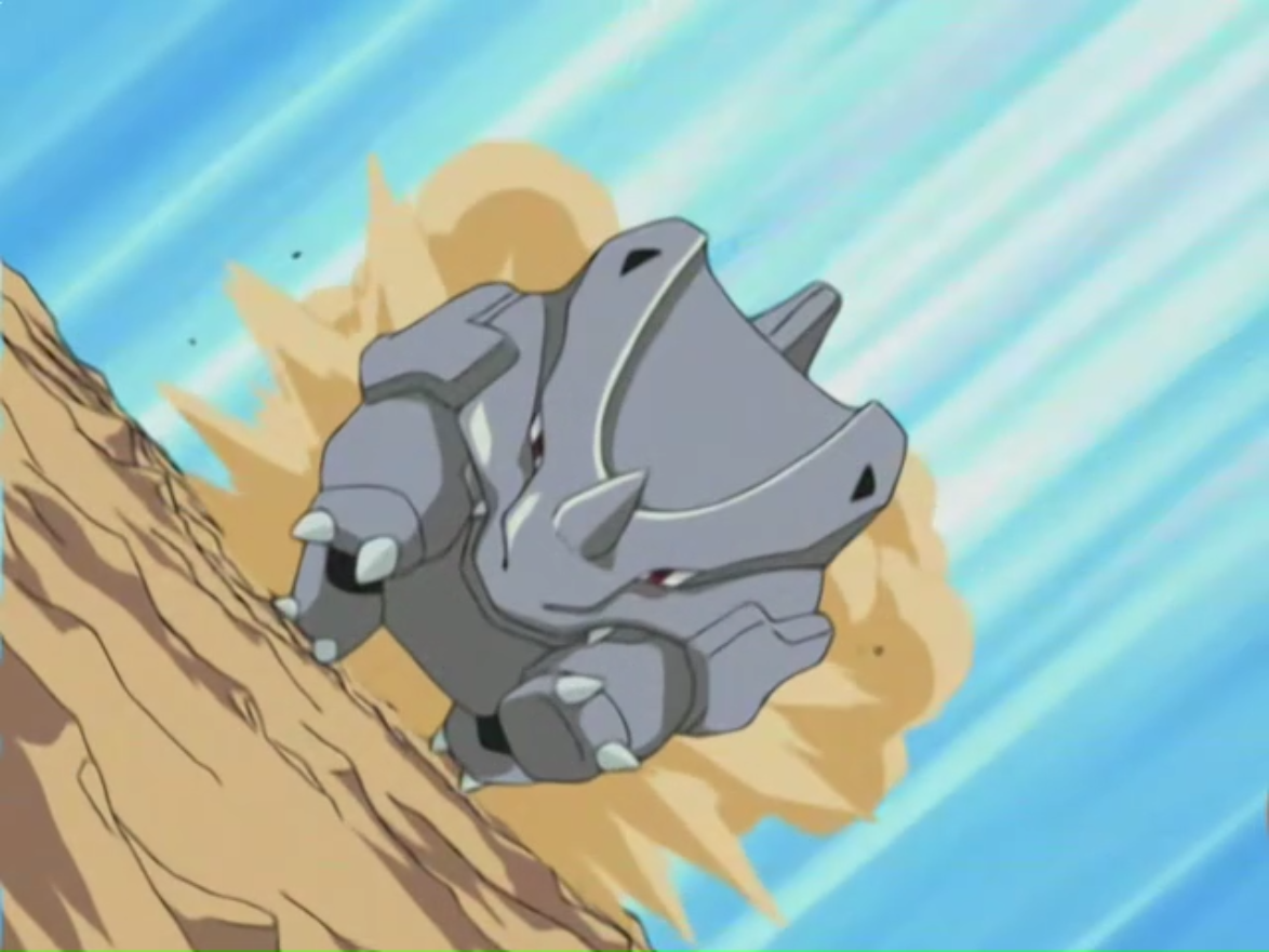 Jon Dickson had a Rhyhorn, who competed in the League.