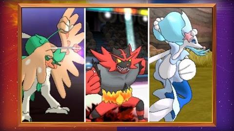 Ontdek de definitieve evoluties van de begin-Pokémon in Pokémon Sun en Pokémon Moon!