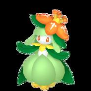 549Lilligant Pokémon HOME
