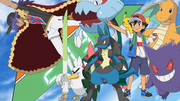 Ash and His Journeys Pokémon Aiming To Battling Leon