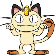 052Meowth BW anime