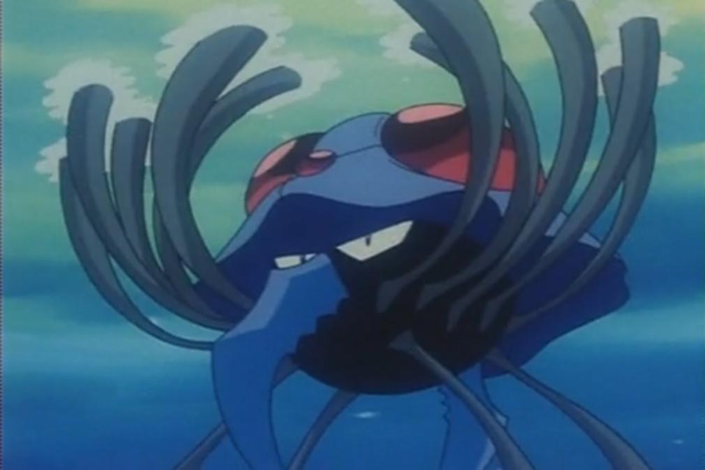 Tentacruel is Marius' Pokémon, who rescued Ash, Misty and Brock.