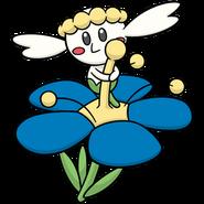 669Flabébé Blue Flower Dream