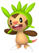 650Chespin Pokémon HOME