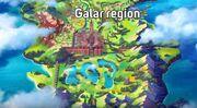 Pokemon Sword & Shield Galar Region