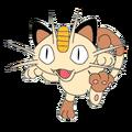 052Meowth OS anime 2