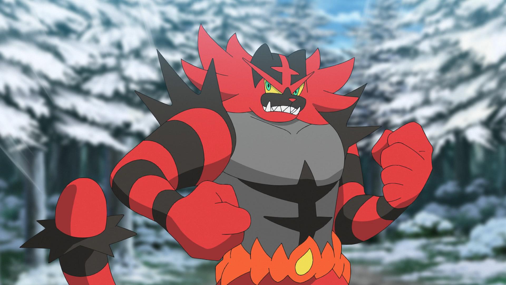 Ash's Incineroar