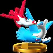 라티아스 & 라티오스 피규어 Wii U
