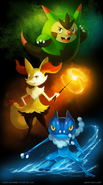 Kalos teenagers by arkeis pokemon-d6m6lhf