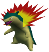 157Typhlosion Pokemon Colosseum