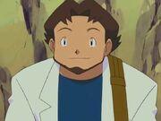 Professor Birch anime