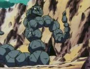 Brock's Onix and Bruno's Onix