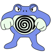 062Poliwrath OS anime
