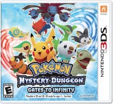 Pokemon Mystery Dungeon Gates to Infinity boxart