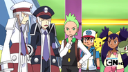 The subway masters telling cilan about the ghost train