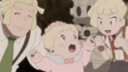 Lillie with Gladion and Mohn