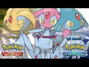 Pokemon Omega Ruby-Alpha Sapphire - Battle! Uxie-Mesprit-Azelf Music (HQ)