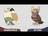 Pokedex GEN 2 Johto How Pokemon would be Pokémon Gold-Silver