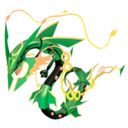 384Rayquaza Mega Pokémon HOME