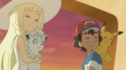 Lillie and Ash