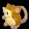 020Raticate Female Pokémon HOME