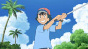 Ash golfer outfit
