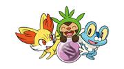 Kalos Starters and Mega Evolution