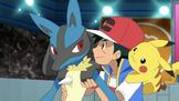 Lucario and Ash