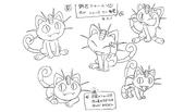 Team Rocket Meowth concept art